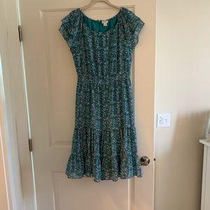 J.Crew midi dress; never worn!